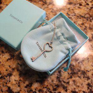 Tiffany & Co. Twist Heart Key Pendant
